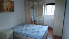 Double room in spacious house with garden and terrace near Plaistow station