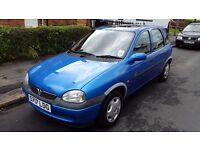 Vauxhall Corsa 1.4, 1998, LOW MILEAGE 50000, 5 door