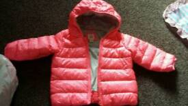 Girls gap bubble coat