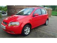 Chevrolet kalos sx 2005 reg 1.4.16v.petrol 76.000 miles mot february 2018 economic clean car.