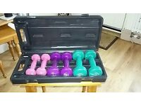 A great set of dumbbells