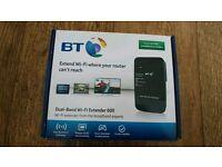 BT Dual band wifi Extender 600