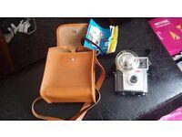 Vintage Kodak Brownie Starmite camera in leather case