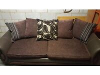 6 month old perfect condition 4 seater settee for sale!