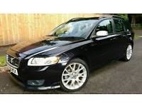 2008 VOLVO V50 2.0D R-DESIGN SE SPORT *HEATED LEATHER* ESTATE V70 S50 S40 v40