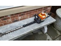 "Stihl HS81 RC petrol Hedge Trimmer 30"" Blades"
