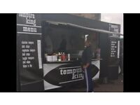 BURGER/SNACK VAN/MOBILE CATERING UNIT £4500 onro
