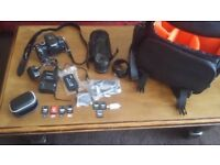Panasonic LUMIX DMC-G2 12.1 MP Digital Camera with 14.42 zoom lens complete set up