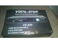 Vocal Star 600 Professional Karaoke Machine