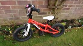 Hot rock bike with stabilisers