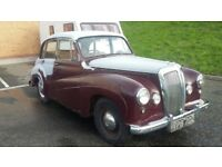 1954 daimler conquest century rare project 2.4 preselect