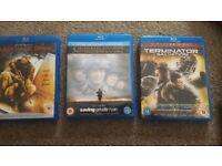Black Hawk Down, Saving Private Ryan & Terminator Salvation - BluRay