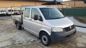 2008 VOLKSWAGEN TRANSPORTER T5 DUAL CAB CHASSIS 2.5L TURBO DIESEL Varsity Lakes Gold Coast South Preview
