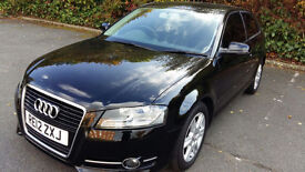 Audi A3 2.0 TDI SE-S TRONIC Black Edition WITH PADDLE SHIFT