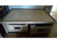 Large table with 2 drawers good for lego play / kids craft