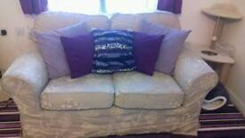 2 seater sofa bed and smaller second 2 seater sofa