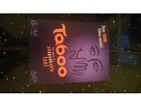 Taboo Board Game - The Game Of Unspeakable Fun Parker (NEW)