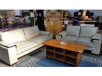 Lovely 3 & 2 cream sofas
