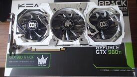 KFA Geforce GTX 980 TI Hall Of Fame