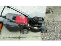 Mountfield push lawnmower £60