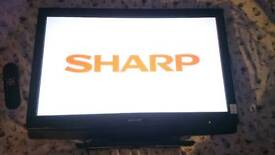 SHARP 32INCH FLAT SCREEN TV FULLY WORKING ORDER