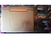 ASUS ROG G752VY Laptop GTX980M 8GB i7-6820HK 32GB RAM 512GB SSD 1TB HDD