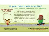 Child Scientists Wanted!