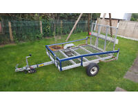 bike, quad, ride on mower 6x4 trailer
