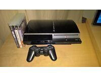 Playstation 3 Gen 1 80GB with 3 games