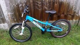 """Sacaren Rufftrax 20"""" Alloy bikes"""