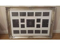 Brand New Large Silver Photo Frame