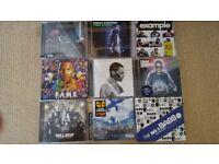 Mix of cd's, Example, Roll Deep, Tinie Tempah, Professor Green, Tinchy Stryder etc
