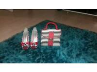 TAMARIS LADIES SHOES AND RUBYSHOO HAND BAG