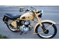 EXCELSIOR TALISMAN TWIN SPORTS 1 . .250 CC EXCELLENT CONDITION 1954 MECHANICALLY IMPECABLE