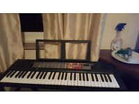 Electric Keyboard and stand