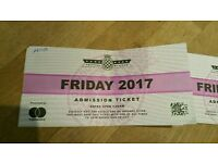 Goodwood festival of speed 1x Friday ticket