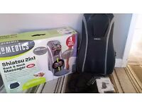 Shiatsu 2in1 back and neck massager chair