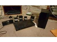 Samsung DVD player Blu-ray and sound system