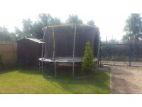 Good condition huge trampoline