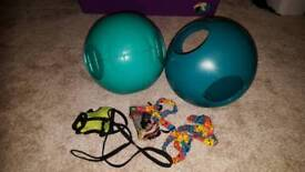 FerreTrail Roll-About Balls and harnesses