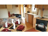 Static holiday home for sale at Regent Bay Morecambe pet friendly 12 month season