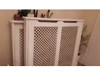 Almost new B&Q radiators from pets and smoke free home £30 each both for £55