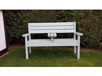 wooden garden, patio bench for sale