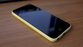 Unlocked to all network, iIphone 5c Yellow £100
