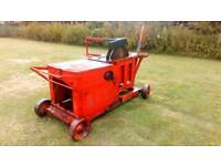 1970 LINER DIESEL SAW BENCH 6.75HP IN GOOD WORKING ORDER ENGINE SERVICED NEW BLADE £750