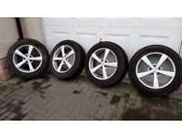 4 x Wheels and Winter Tyres for Nissan Qashqai