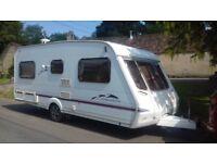 swift celeste SE 18/4 fixed bed caravan 2003/04