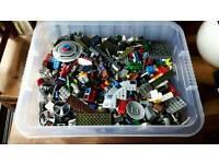 large Tub of assorted LEGO