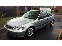 2000 Honda Civic 1.4 EJ9 Mildly modified