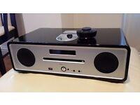 Vita Audio R4 / Ruark / Home Audio System (DAB/CD/ AUX/ USB/ iPod dock) - Black